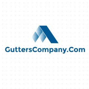Gutters company domain logo